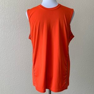 Adidas Men's Orange Muscle Tee
